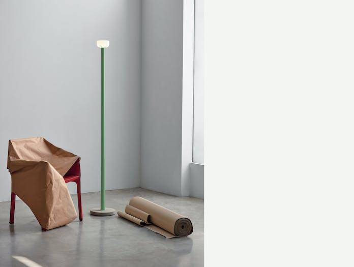 Flos bellhop floor light green ls 2
