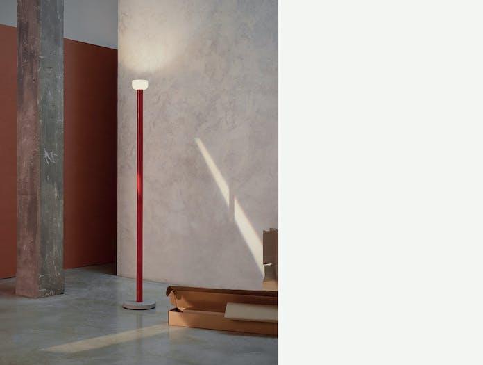 Flos bellhop floor light red ls 2