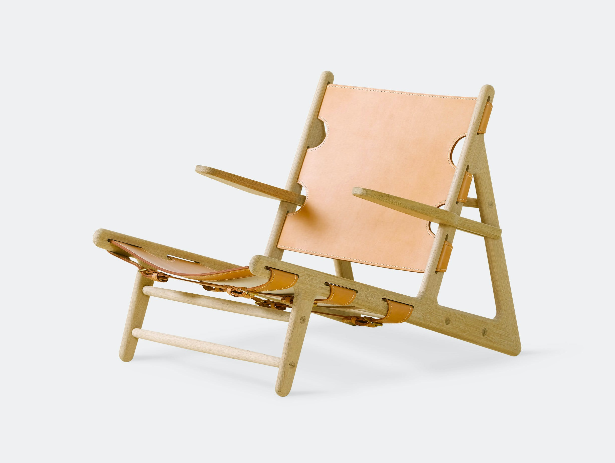 Fredericia Hunting Chair Natural Borge Mogensen