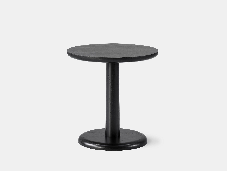 Fredericia Pon Table Black Jasper Morrison