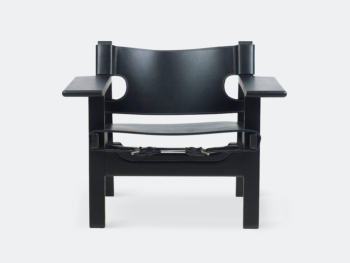 Fredericia Spanish Chair Black Borge Mogensen