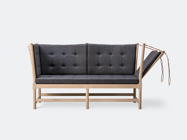 Fredericia Spoke Back Sofa Canvas 174 Borge Mogensen
