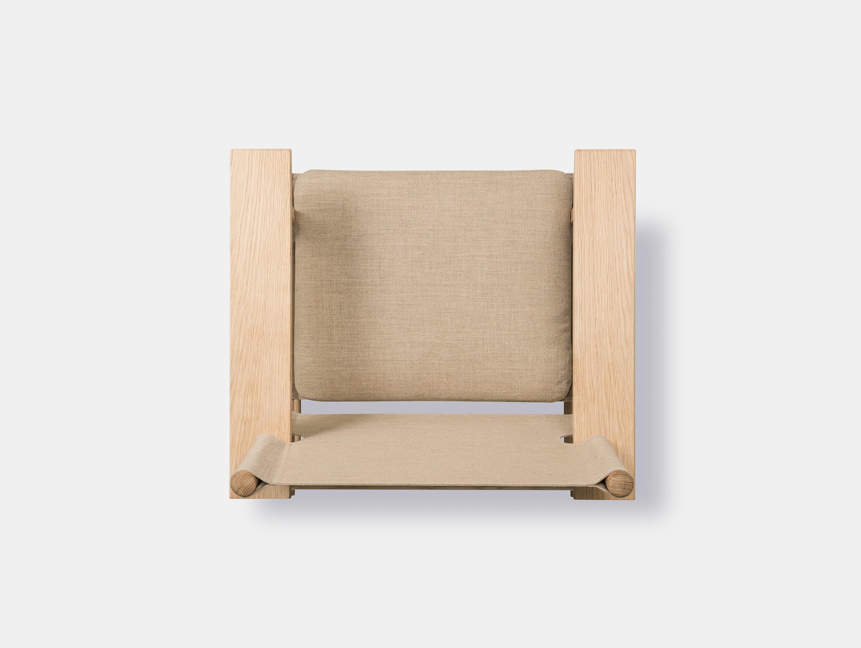 Fredericia canvas chair natural 10