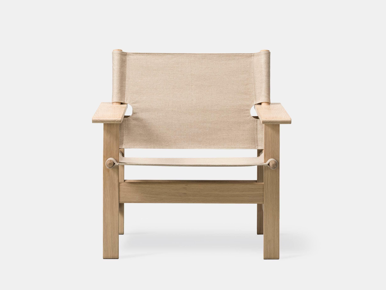 Fredericia canvas chair natural 2