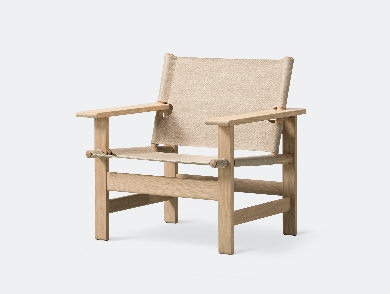Fredericia canvas chair natural 3