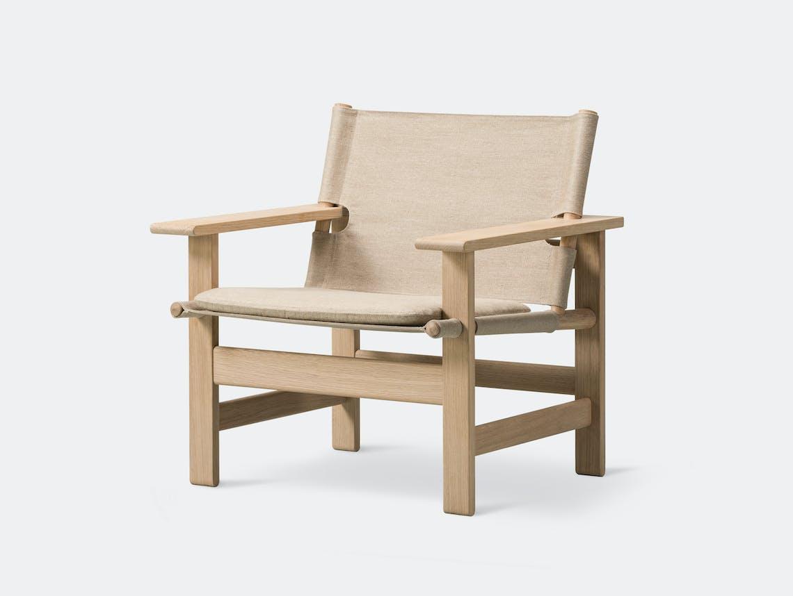 Fredericia canvas chair natural 4