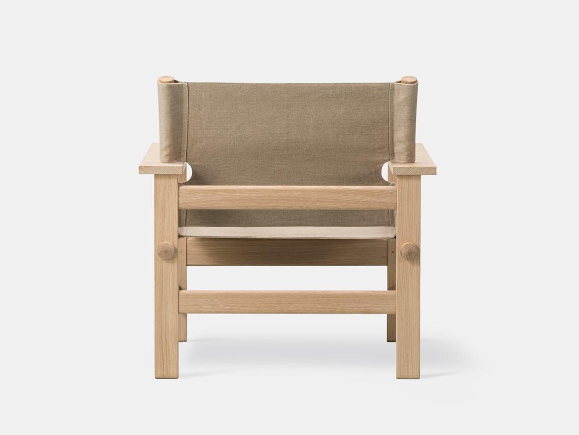 Fredericia canvas chair natural 5