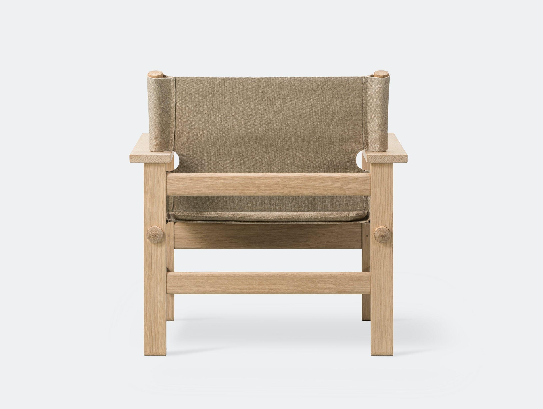 Fredericia canvas chair natural 6