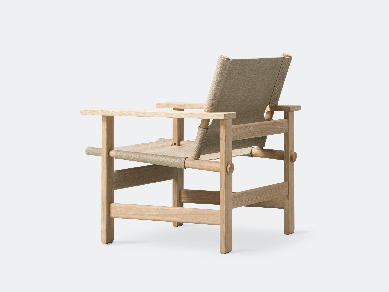 Fredericia canvas chair natural 7