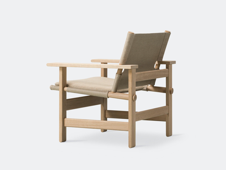 Fredericia canvas chair natural 8