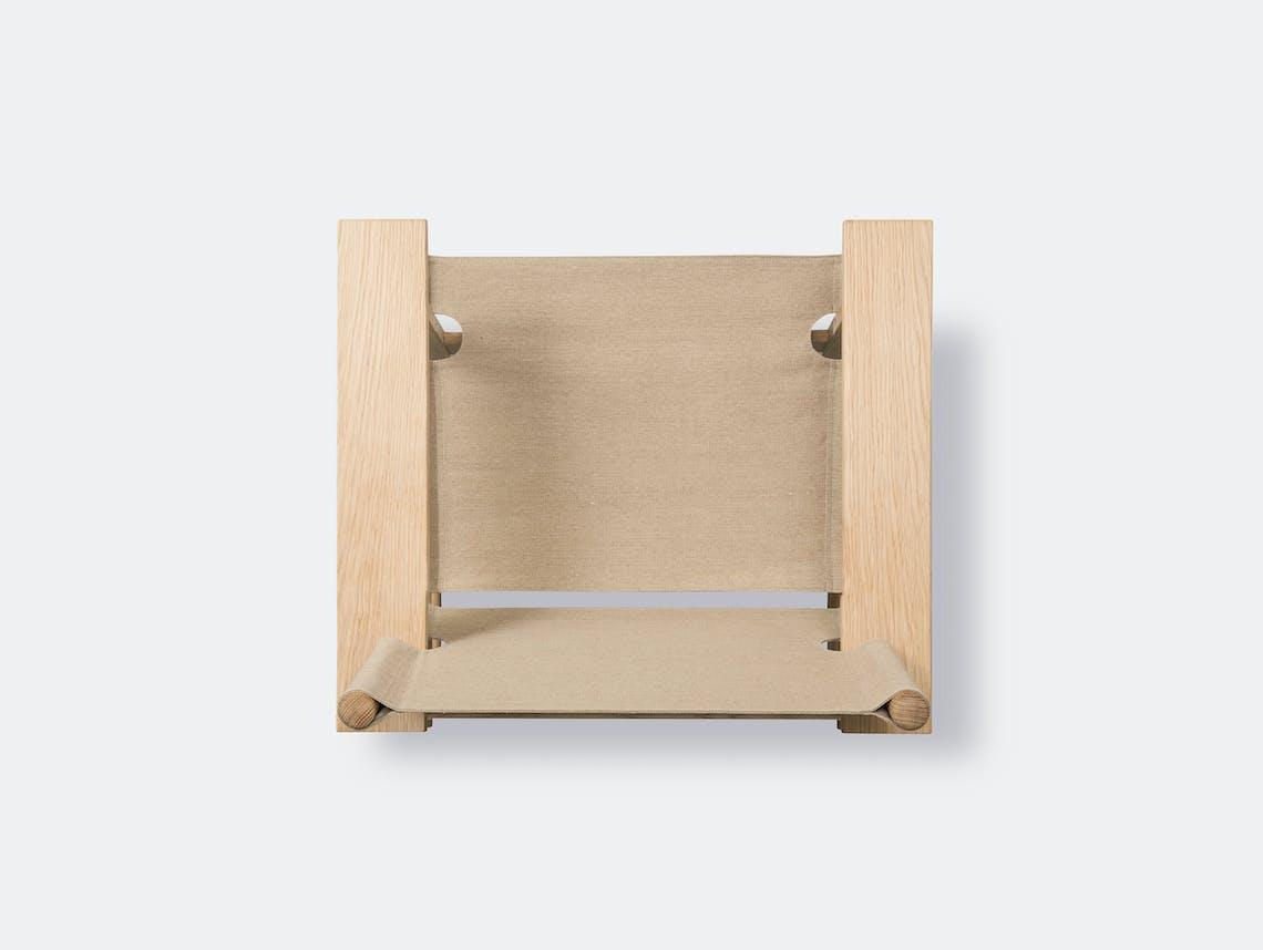 Fredericia canvas chair natural 9
