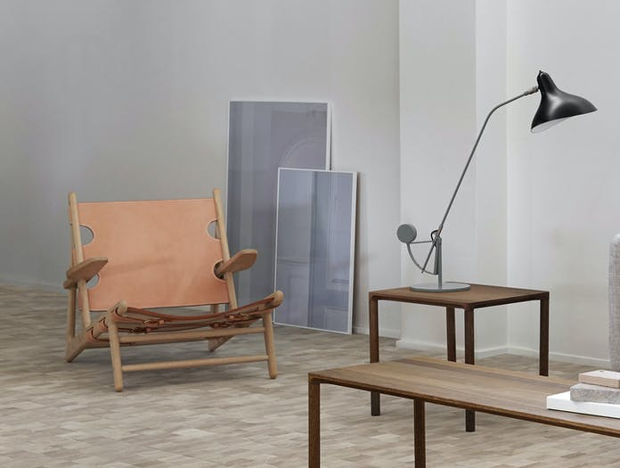 Fredericia Hunting Chair Natural 2 Borge Mogensen