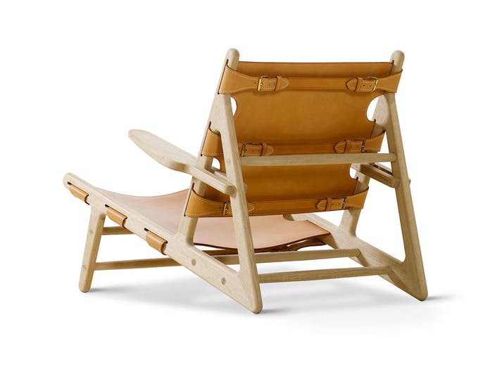 Fredericia Hunting Chair Natural Back Borge Mogensen