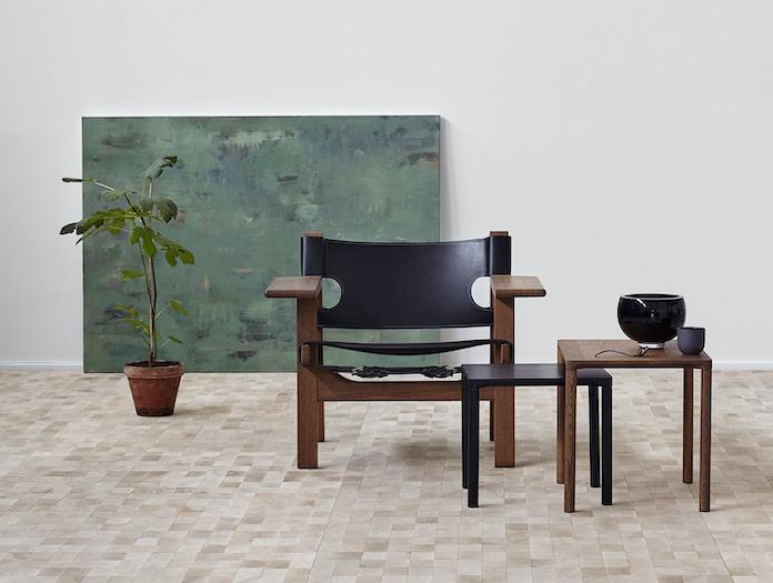 Fredericia Spanish Chair Sm Oak Black 2 Borge Mogensen