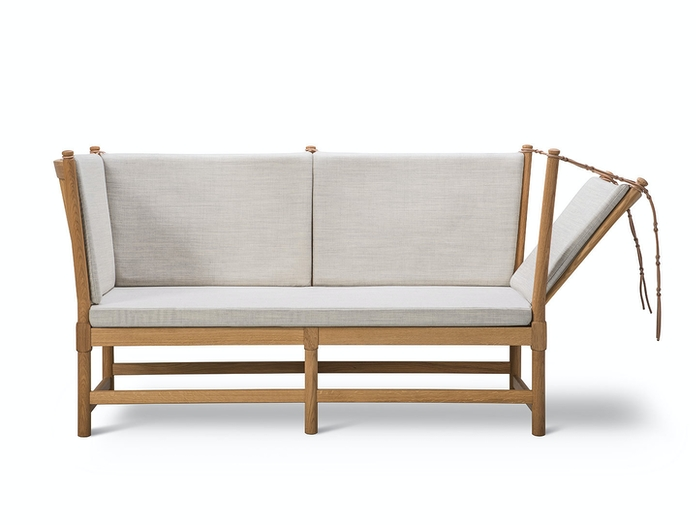 Fredericia Spoke Back Sofa Canvas 114 Borge Mogensen