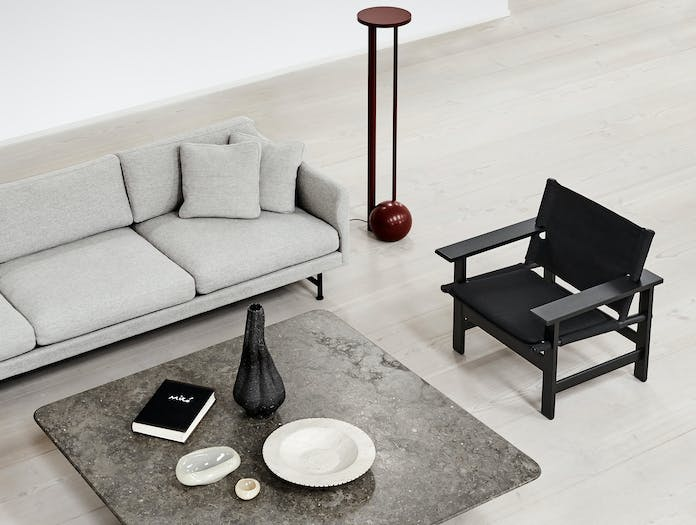 Fredericia canvas chair lifestyle 2