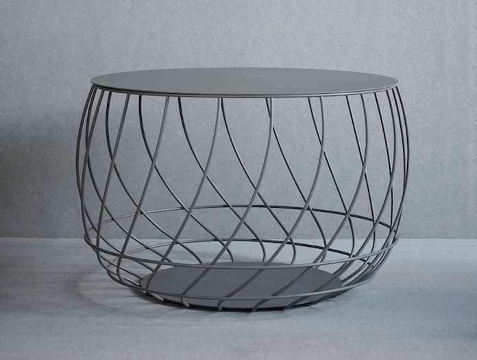 Friends Founders Spin Coffee Table Grey Ida Linea Hildebrand