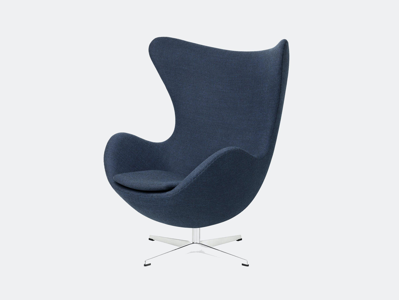 Fritz Hansen Egg Chair Blue