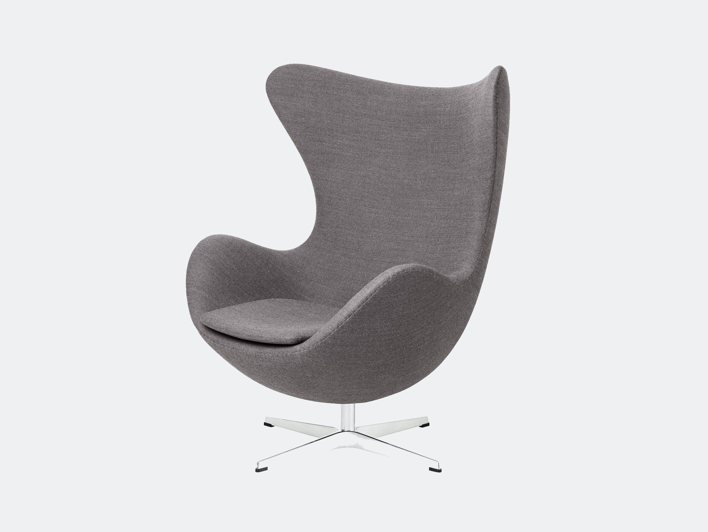 Fritz Hansen Egg Chair Dark Grey