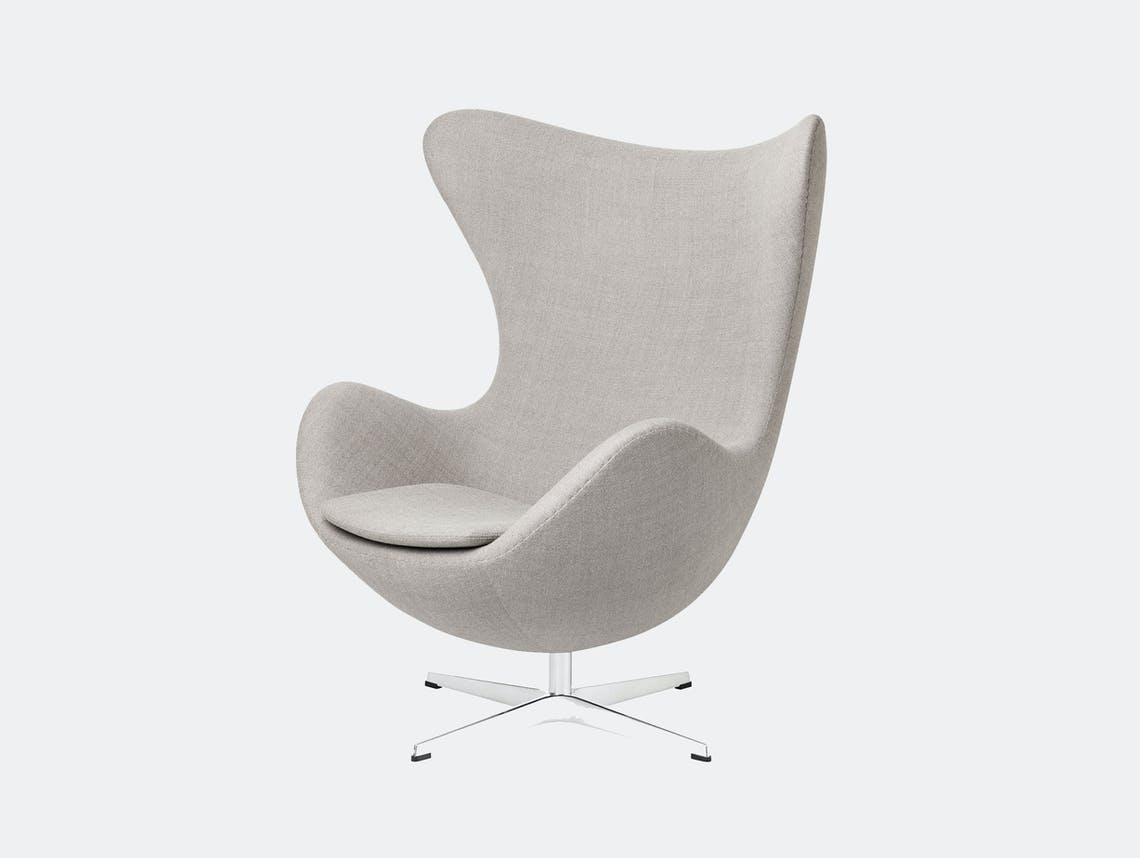 Fritz Hansen Egg Chair Light Grey