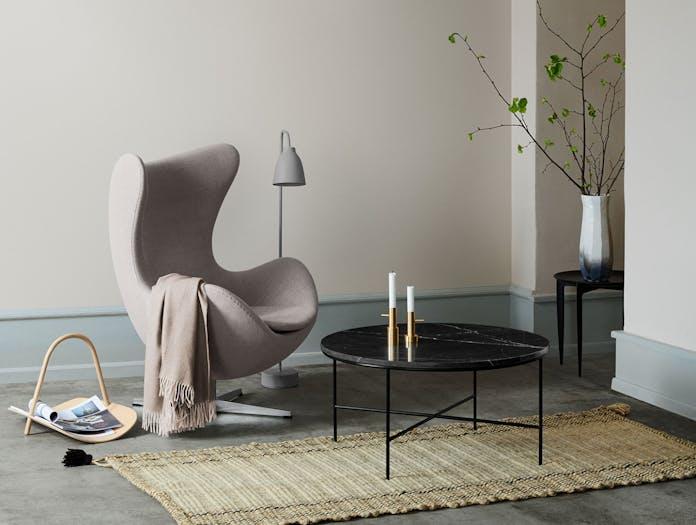 Fritz Hansen Egg Lounge Chair Grey