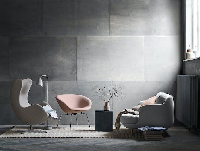 Fritz Hansen Pot Lounge Chair In Situ