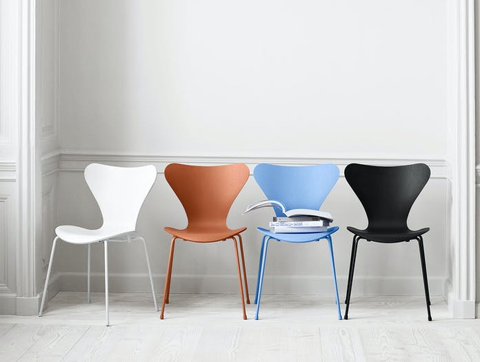 Fritz Hansen Series7 Colours