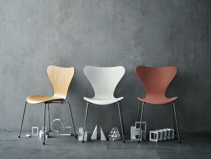 Fritz Hansen Series7 Oak Coloured Ash