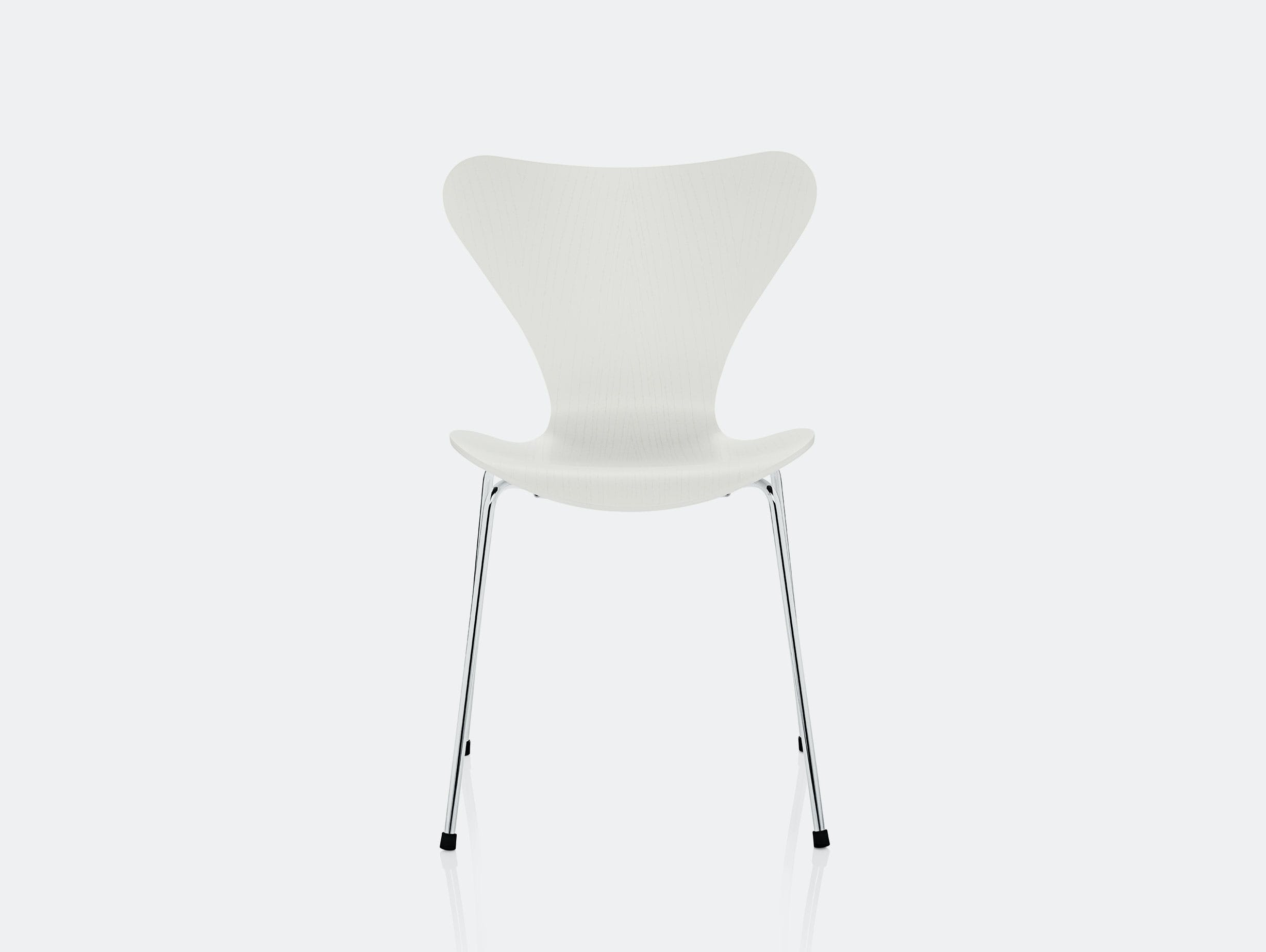 Fritz Hansen Series7 White Ash Chrome