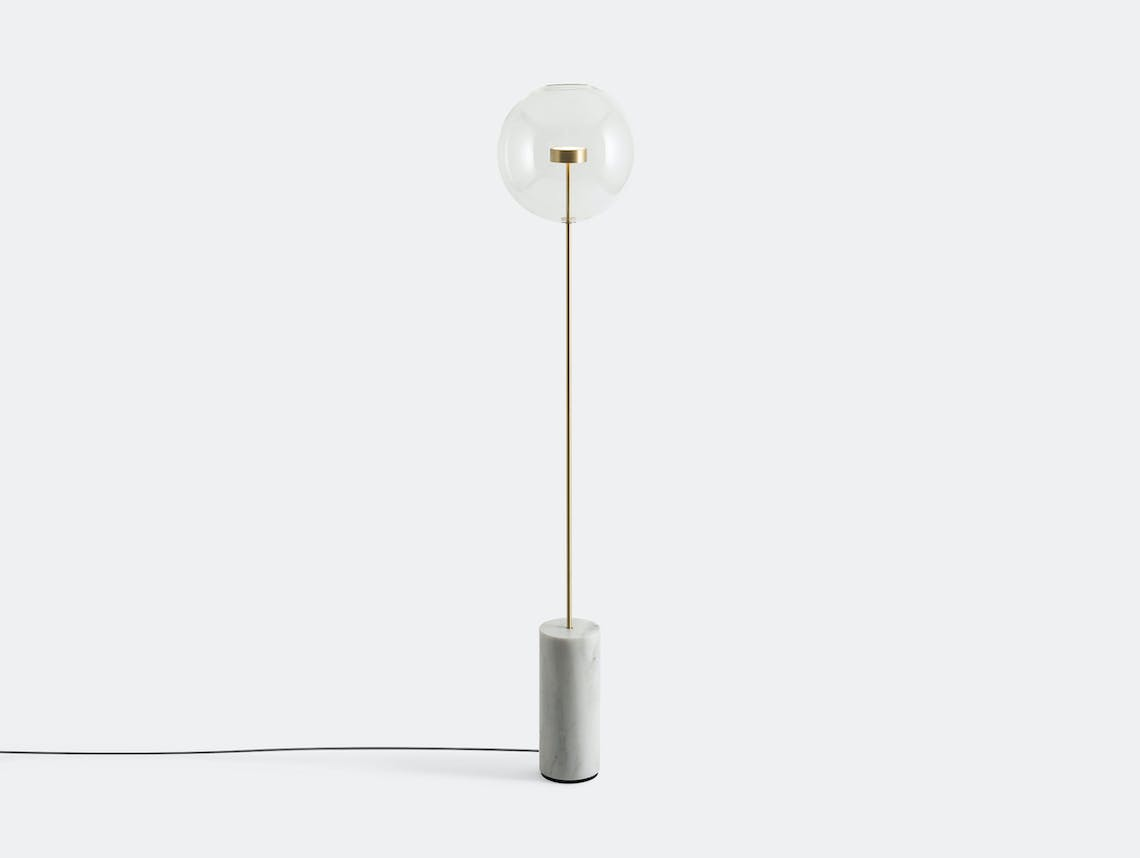 Giopato And Coombes Bolle Soffio Floor Light