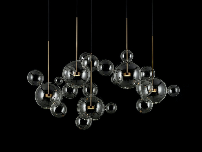 Giopato And Coombes Bolle Pendant Light Cluster 2