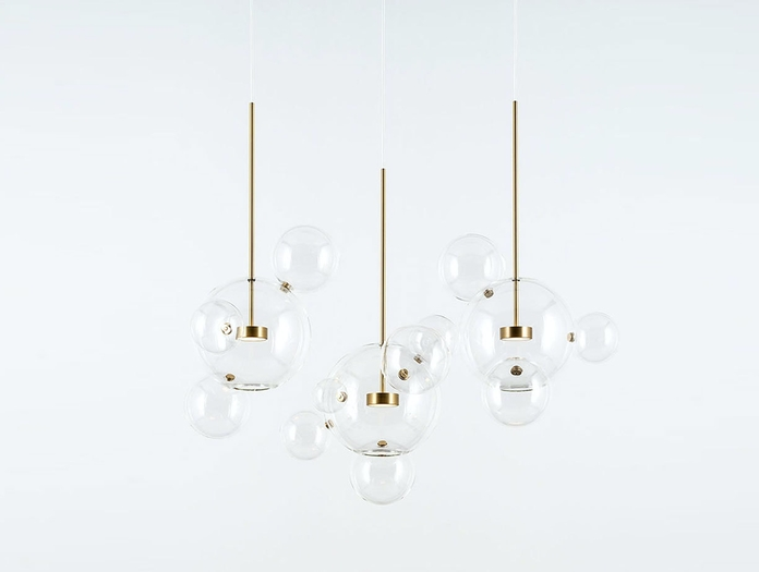 Giopato And Coombes Bolle Pendant Lights 3