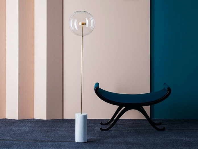 Giopato And Coombes Bolle Soffio Floor Light 2