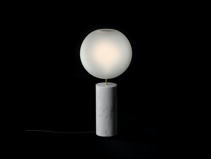 Giopato And Coombes Bolle Soffio Table Light Frosted