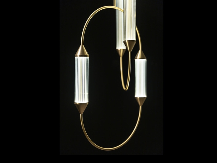 Giopato And Coombes Cirque Pendant Light Detail 2