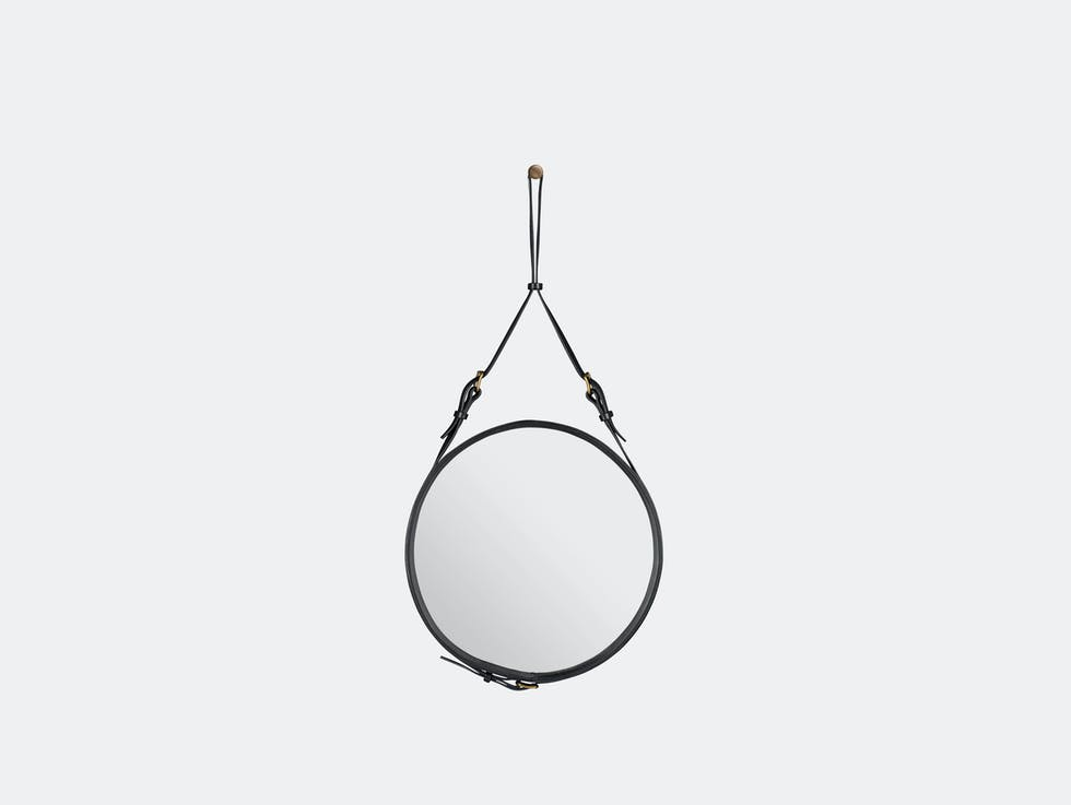 Adnet Circular Wall Mirror image