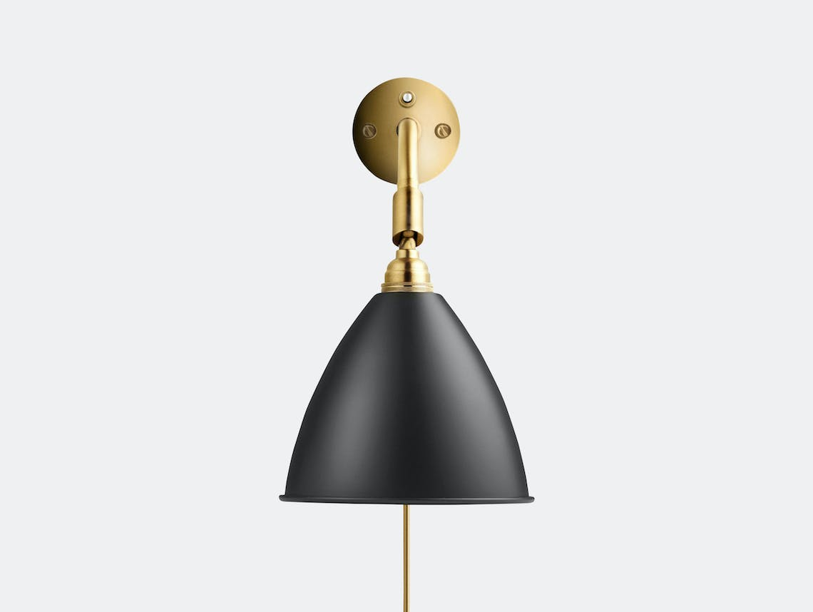 Gubi Bl7 Bestlite Wall Lamp Brass Black Robert Dudley Best