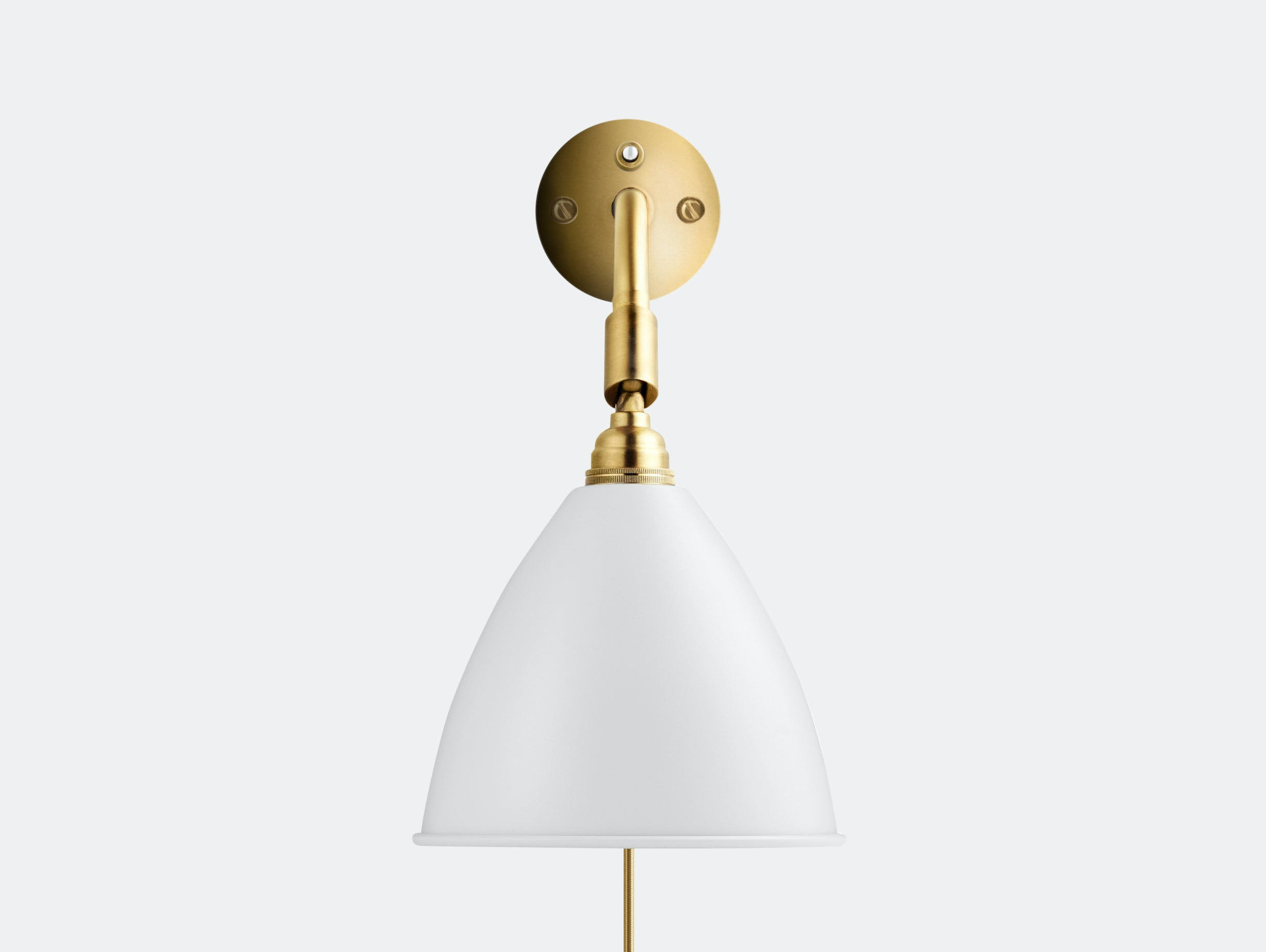 Gubi Bl7 Bestlite Wall Lamp Brass White Robert Dudley Best