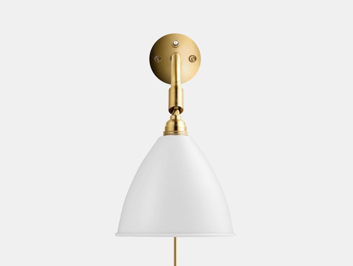 Gubi Bl7 Bestlite Wall Lamp Brass White Robert Dudley Best