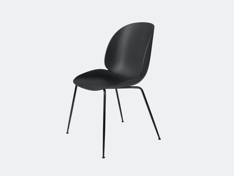Gubi Beetle Chair Black Gam Fratesi
