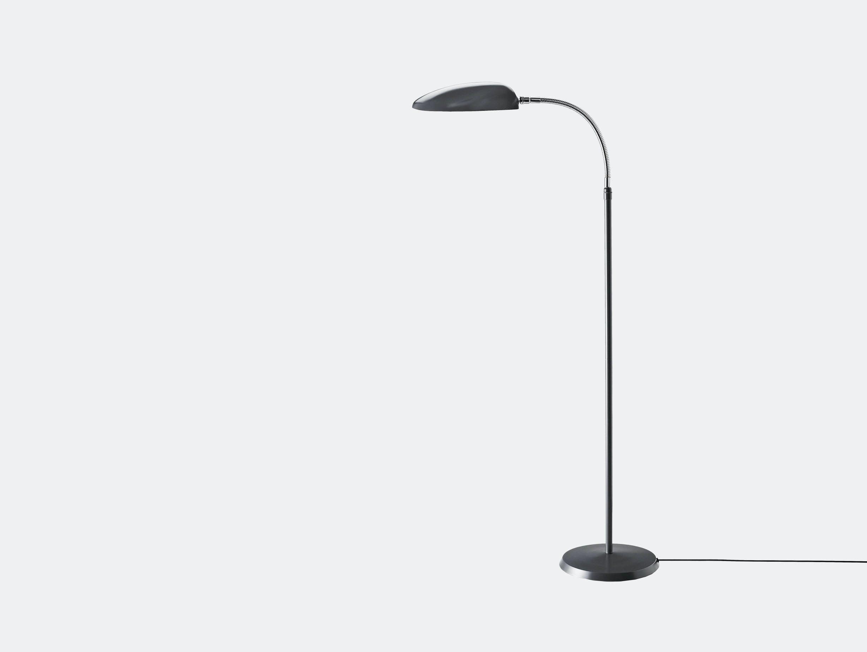 Gubi Cobra Floor Lamp Anthracite Grey Greta Grossman