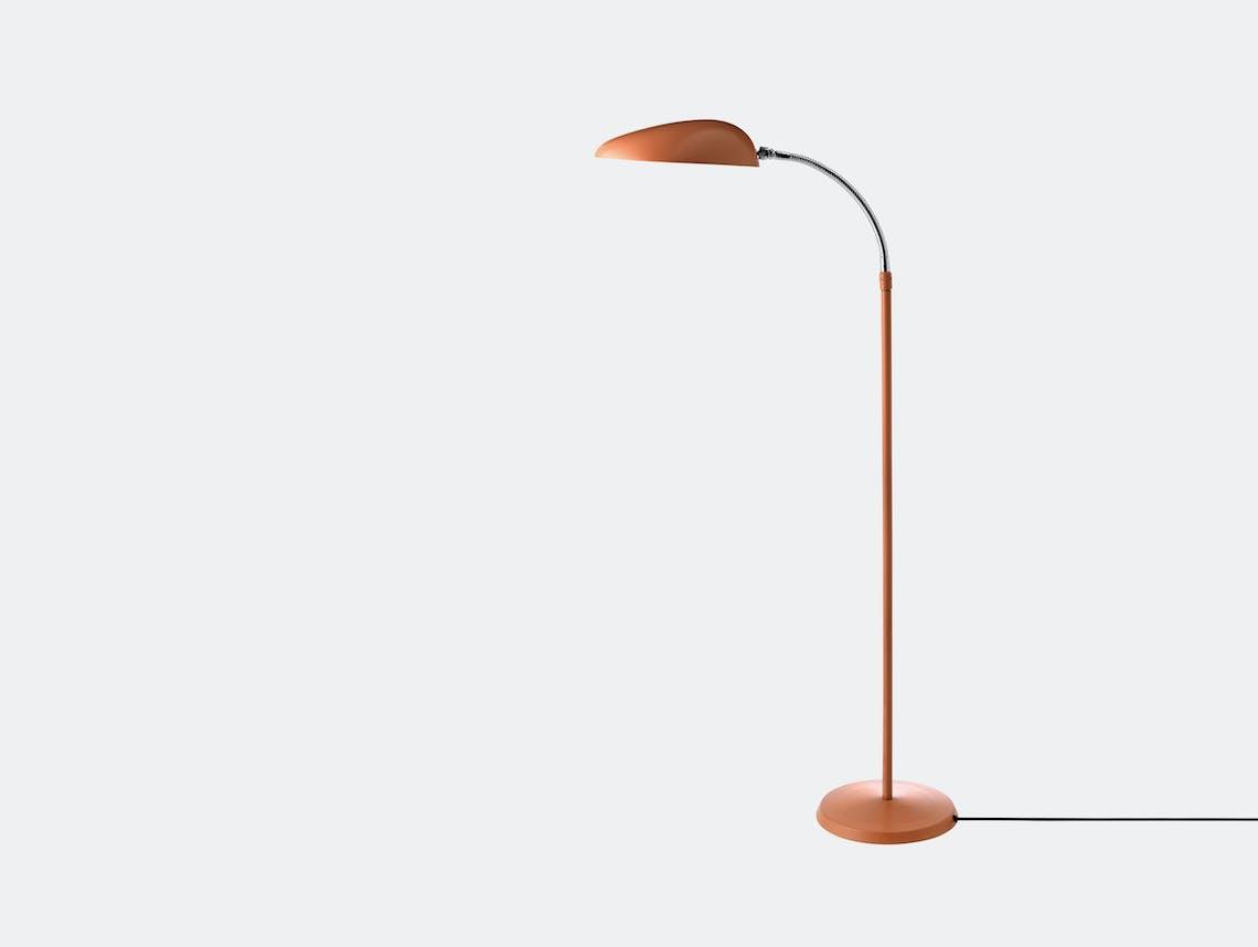Gubi Cobra Floor Lamp Vintage Red Greta Grossman