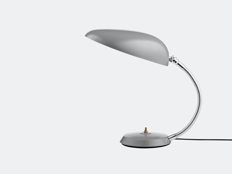Gubi Cobra Table Lamp Blue Grey Greta Grossman