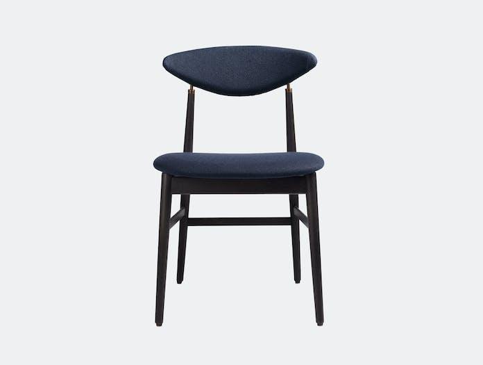 Gubi Gent Dining Chair Black Vidar 554 Gam Fratesi