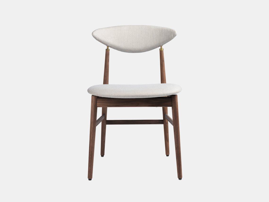 Gubi Gent Dining Chair Walnut Sinequanon 9 Gam Fratesi