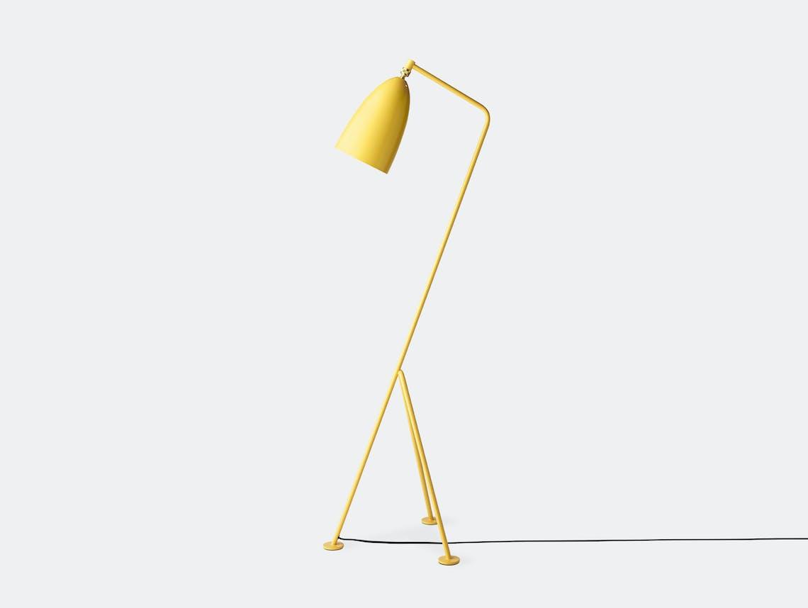 Gubi Grasshopper Floor Lamp aspen yellow Greta Grossman