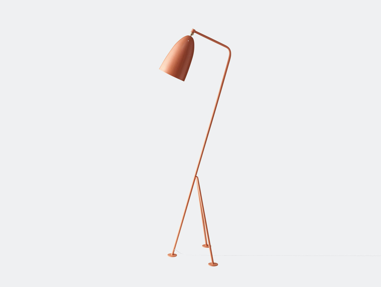 Gubi Grasshopper Floor Lamp Vintage Red Greta Grossman