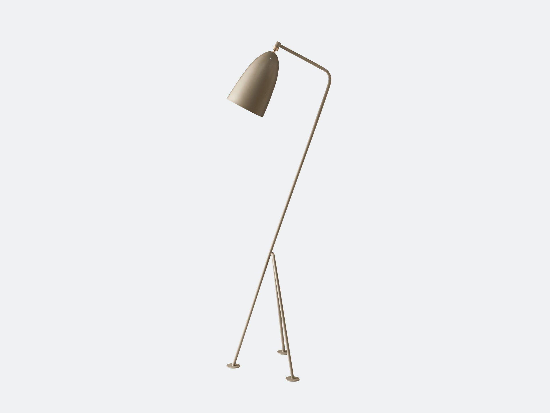 Gubi Grasshopper Floor Lamp Warm Grey Greta Grossman