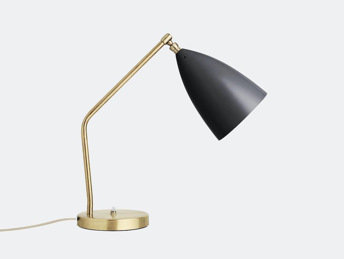 Gubi Grasshopper Table Lamp Black Greta Grossman