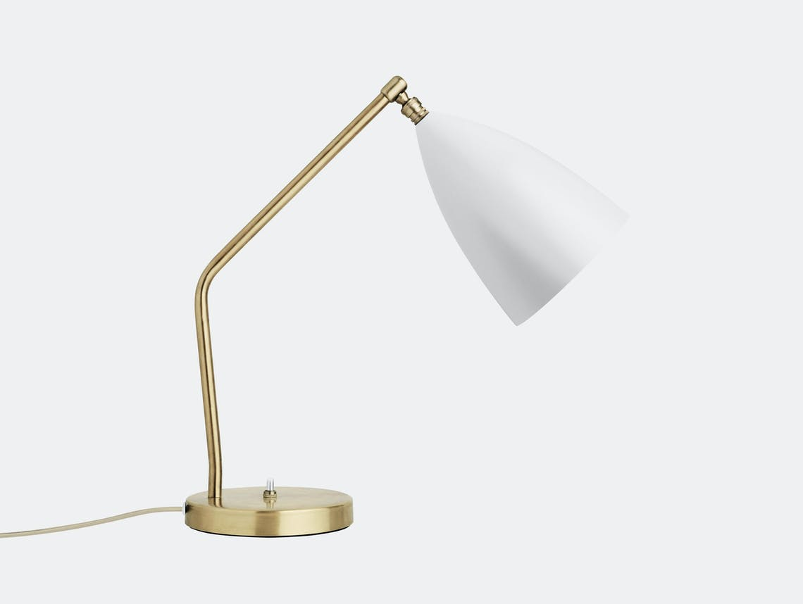 Gubi Grasshopper Table Lamp White Greta Grossman